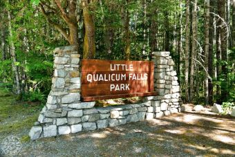 Eingang Little Qualicum Falls