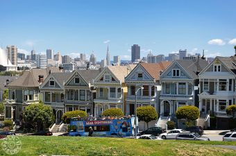 Painted Ladies, Alamo Square