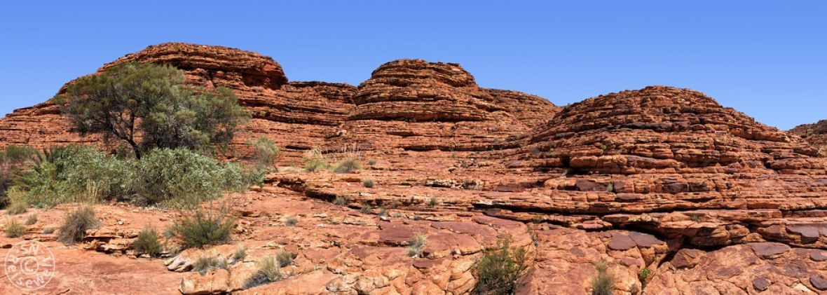 Lost City im Kings Canyon