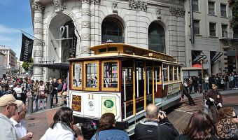 Powell Cable Car Station