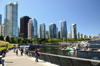 Coal Harbour Promenade