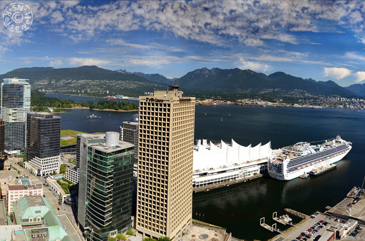 Canada Place vom Harbour Tower