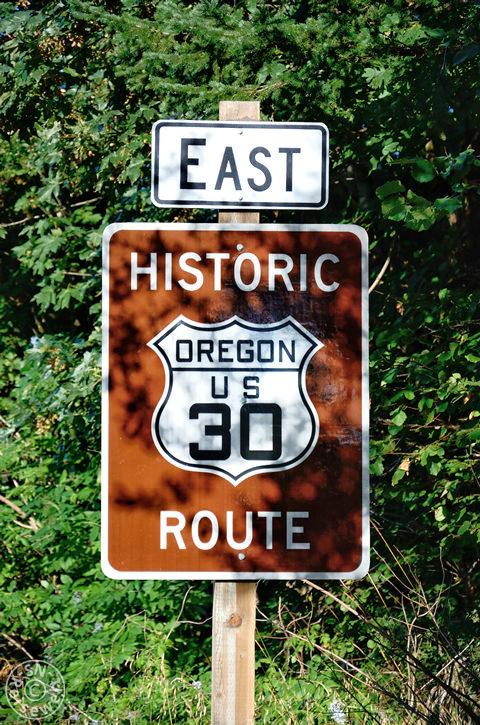 Historic Route 30, Oregon