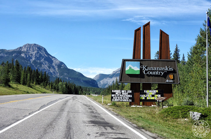 Eingang, Kananaskis Country