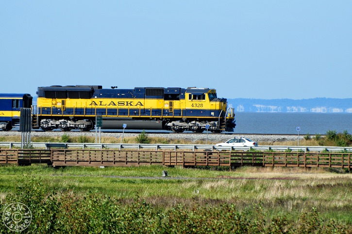 Alaska Railroad, Potter Marsh