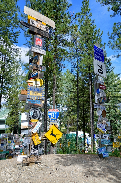 Sign Post Forest, Watson Lake