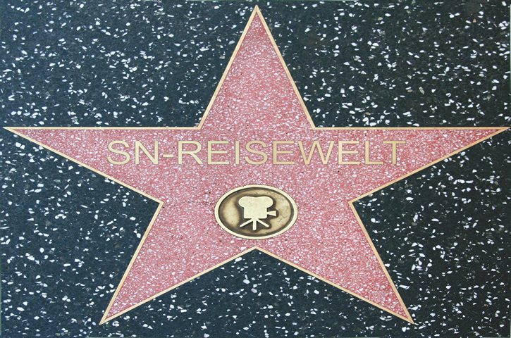 Unser Stern am Walk of Fame