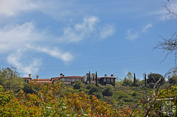 Villa, Mandeville Canyon Road